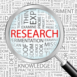 research, examine, science
